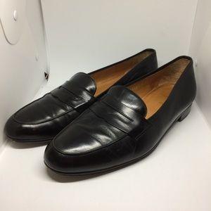Ralph Lauren Polo Men's Black Loafer Shoes Size 11
